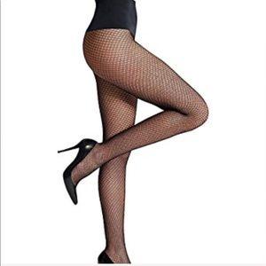 "Commando fishnet ""everyday crochet"" stockings"